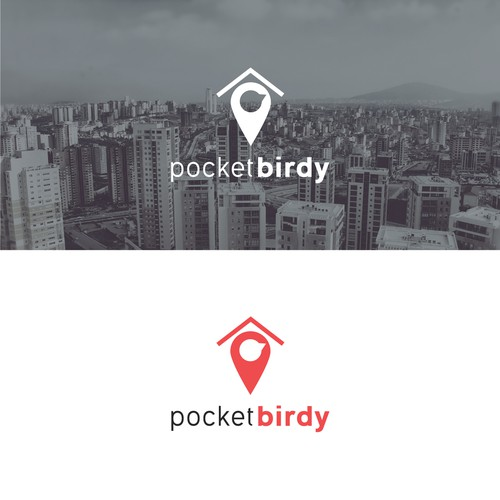 Logo concept for pocketbirdy