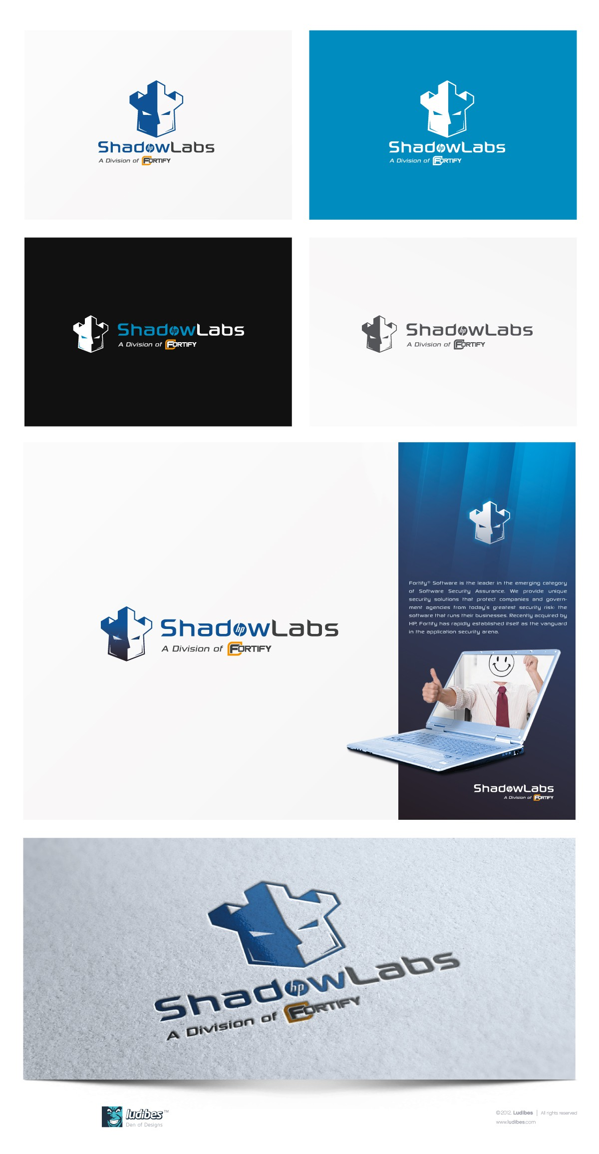 [Logo] HP Fortify ShadowLabs , HP's Security and Hacking Consultancy