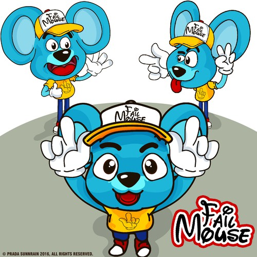 Fail Mouse Character Design
