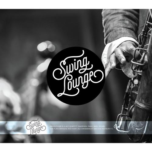 Create a cool, unique logo for a swinging Jazz Quartett