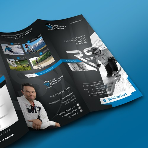 Powerful trifold brochure design