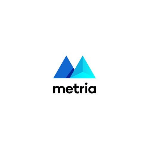 Metria Logo Design