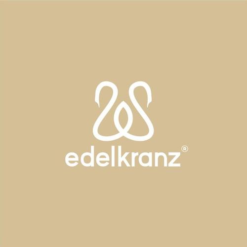 edelkranz® - Modern and Royal (Swan) Logo - Female 21+ Beauty Audience