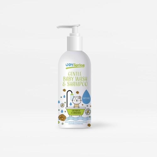 Baby wash&shampoo