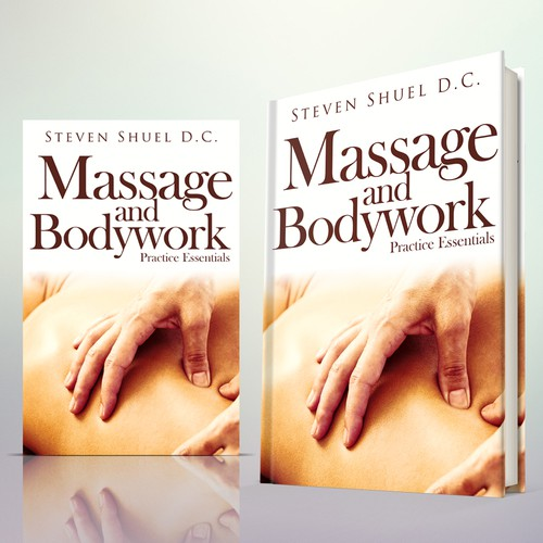 "Book Cover Concept for ""Massage and Bodywork"""