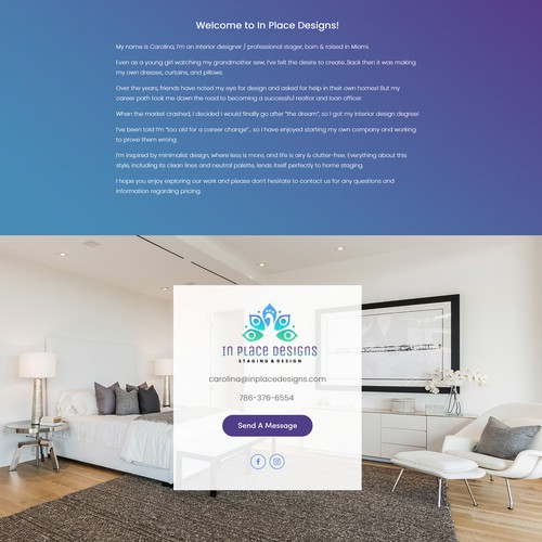 Web Design For Interior Design Service