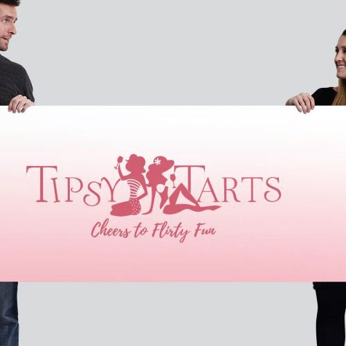 logo & banner for Tipsy Tarts