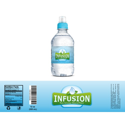 INFUSION Pure Artesian Mineral Water