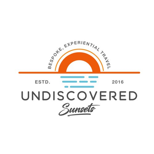 Logo Concept for Undiscovered Sunsets