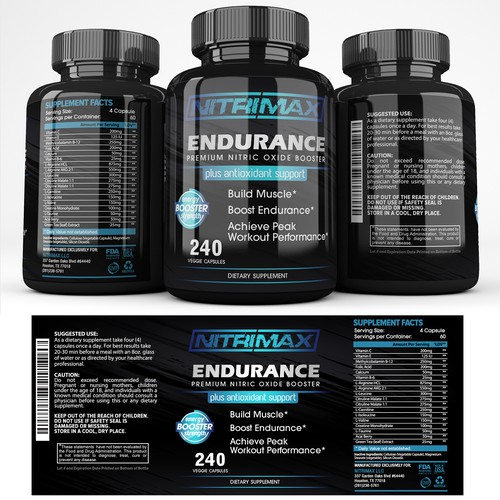 Nitrimax Supplements
