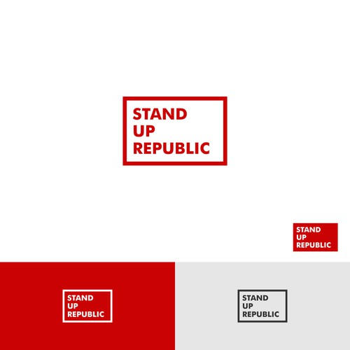 Logo for Stand Up Republic