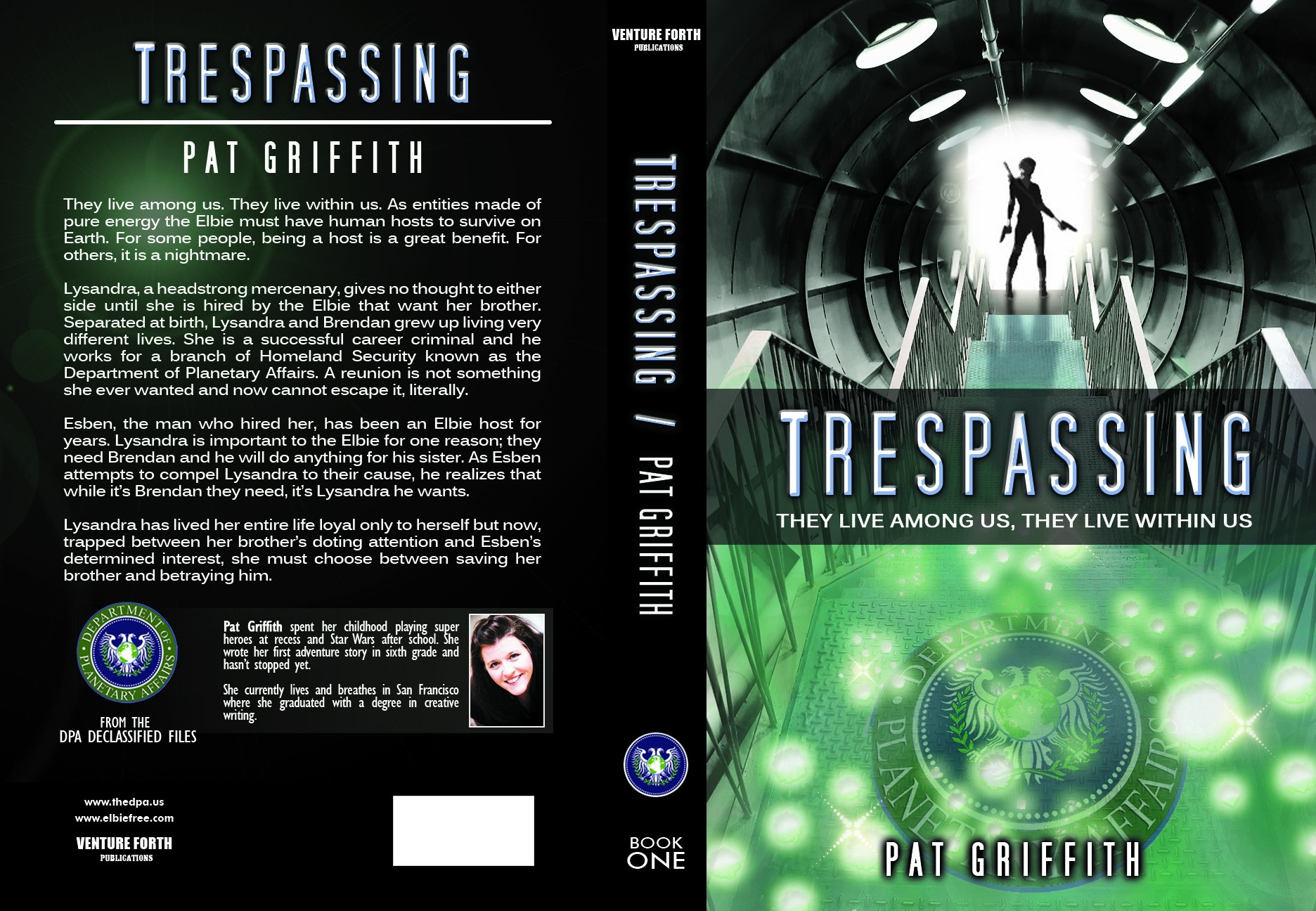 Intriguing Design Needed for New Scifi Book