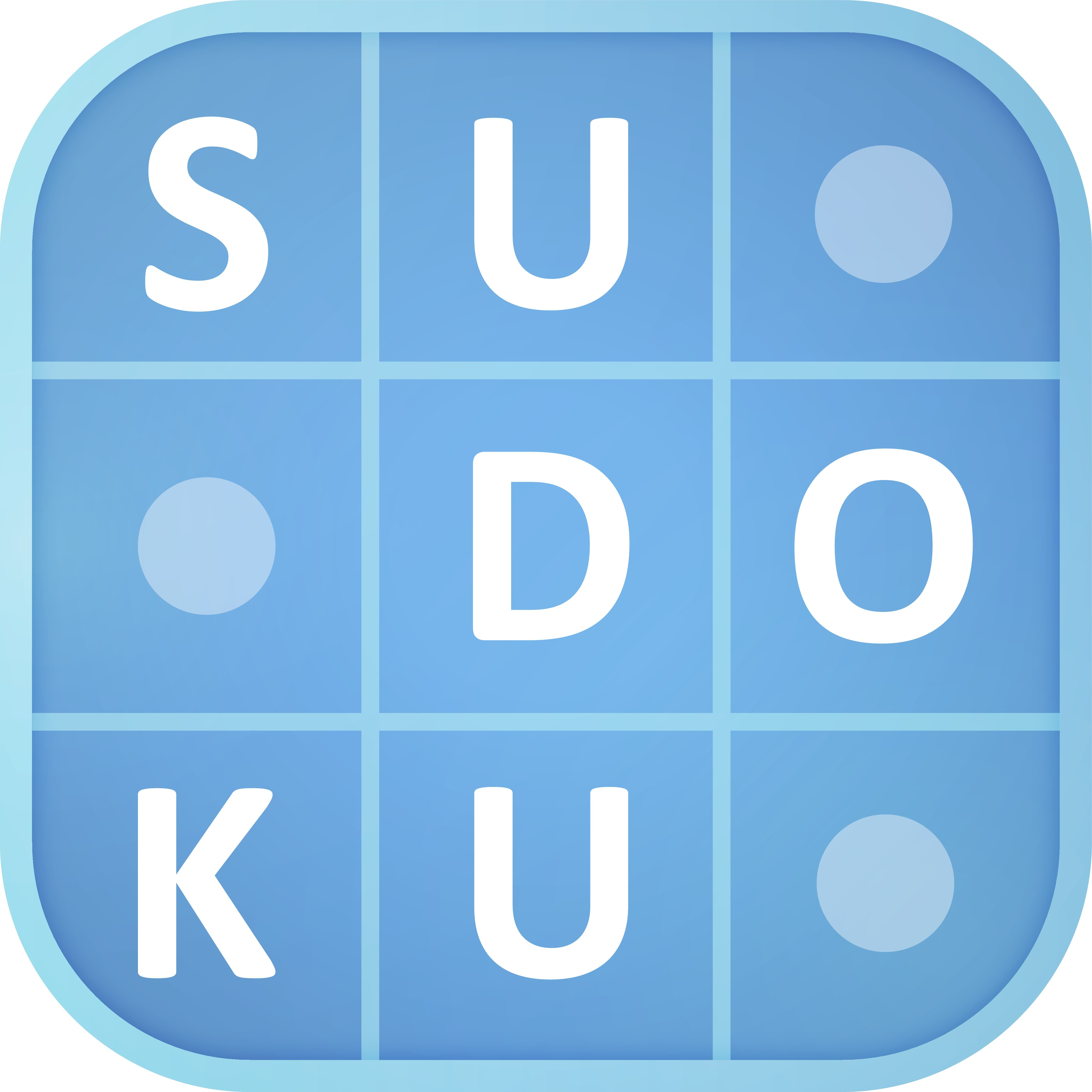 Create a fun sudoku puzzle icon for Android / iOS