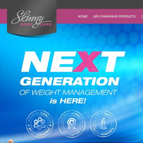 skinny body homepage