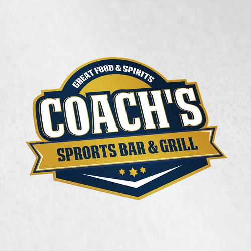 Sports Bar logo design