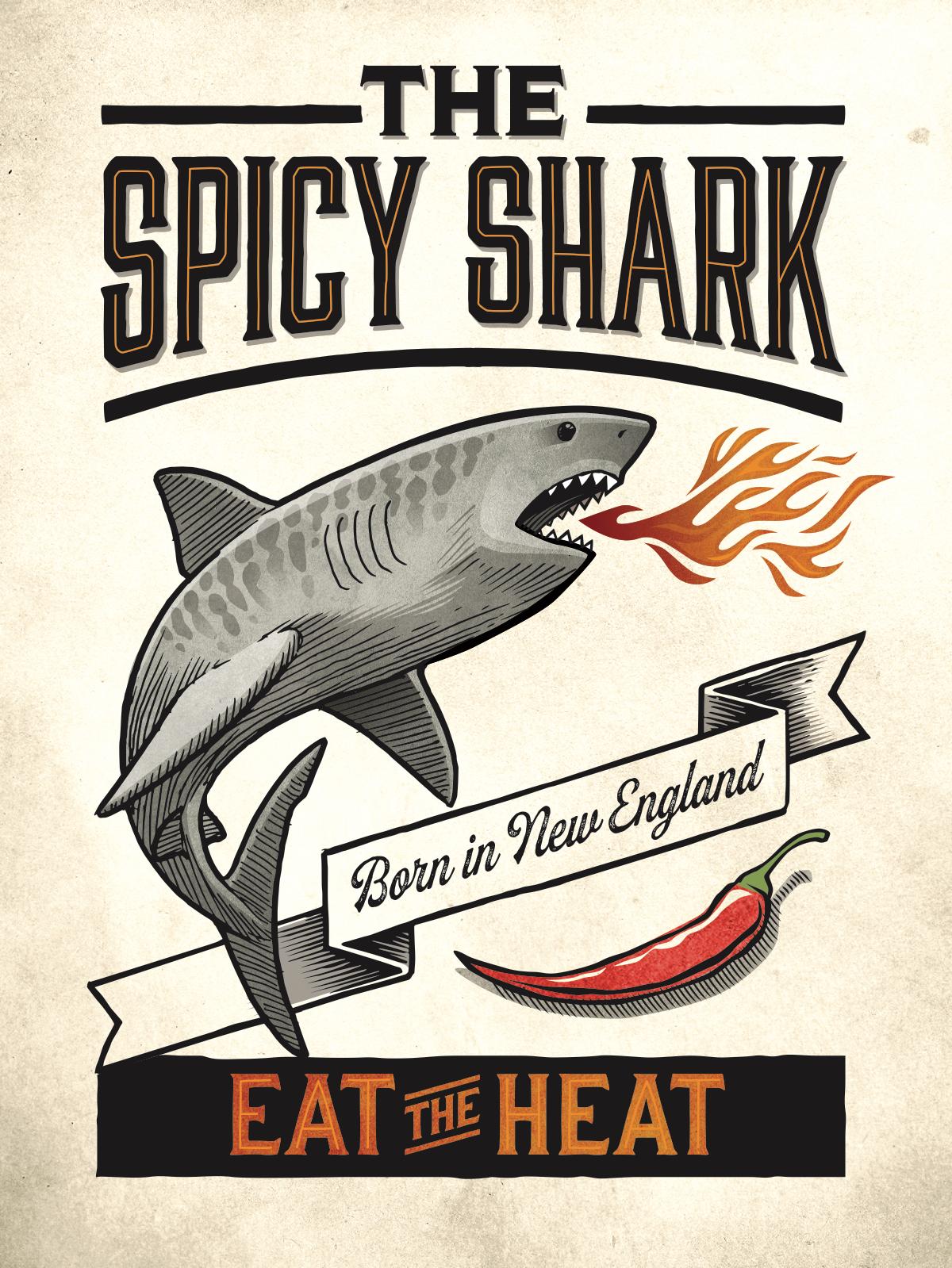 The Spicy Shark - new sharks