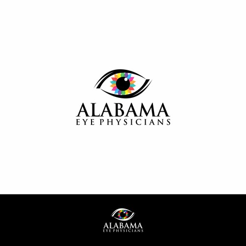 logo concept for Alabama Eye Physicians