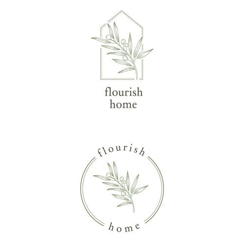 Logo Flourish Home