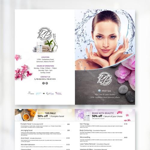 MediSpa Menu Design
