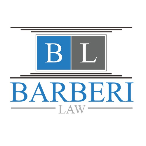 Create a bold and sophisticated logo for Barberi Law.