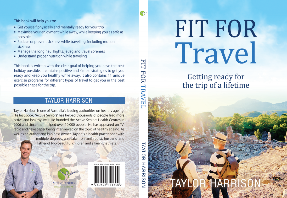 Active Seniors Travel Book cover