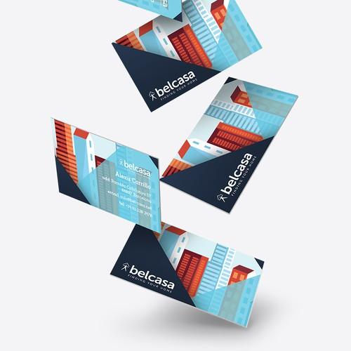 Bel Casa Business Card Design