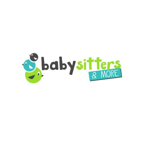 Babysitter Service Logo