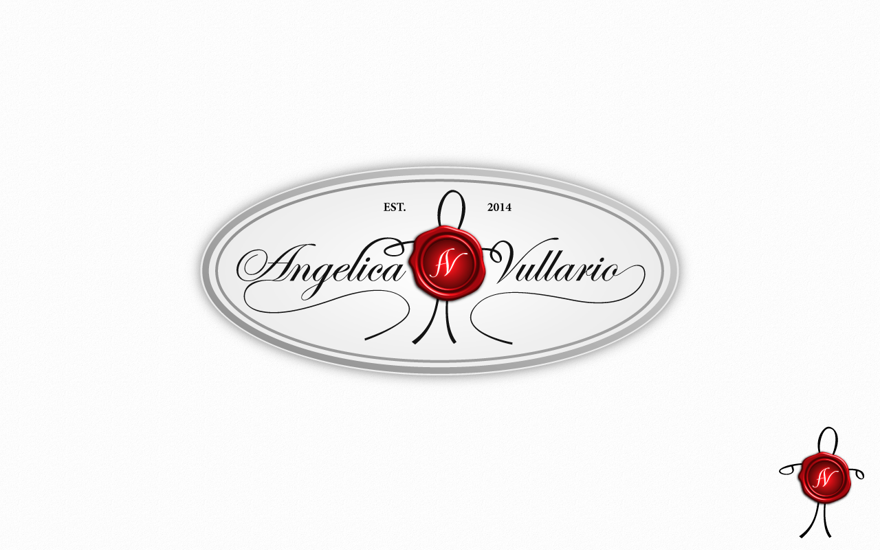 Design an Elegant Script with a Realistic 3D Wax Seal for a Private Label