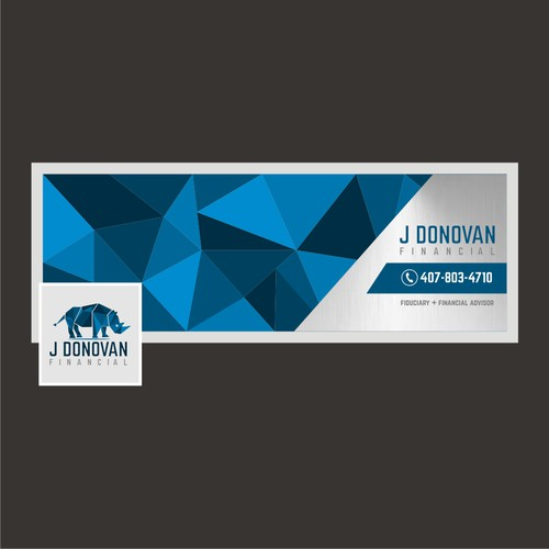 Modern Financial Services Financial Advisor Design