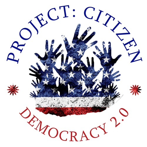 """""""Project: Citizen"""" Logo and App Button"""