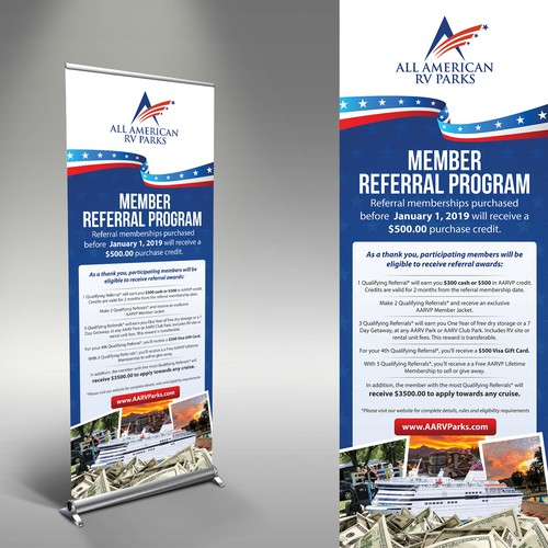 AARVParks Referral Program banner