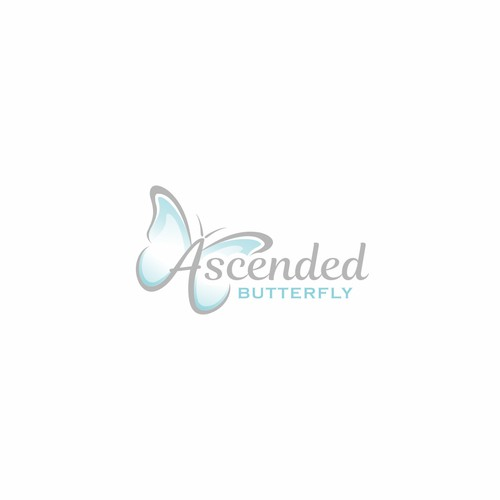 logo concept for Ascended Butterfly
