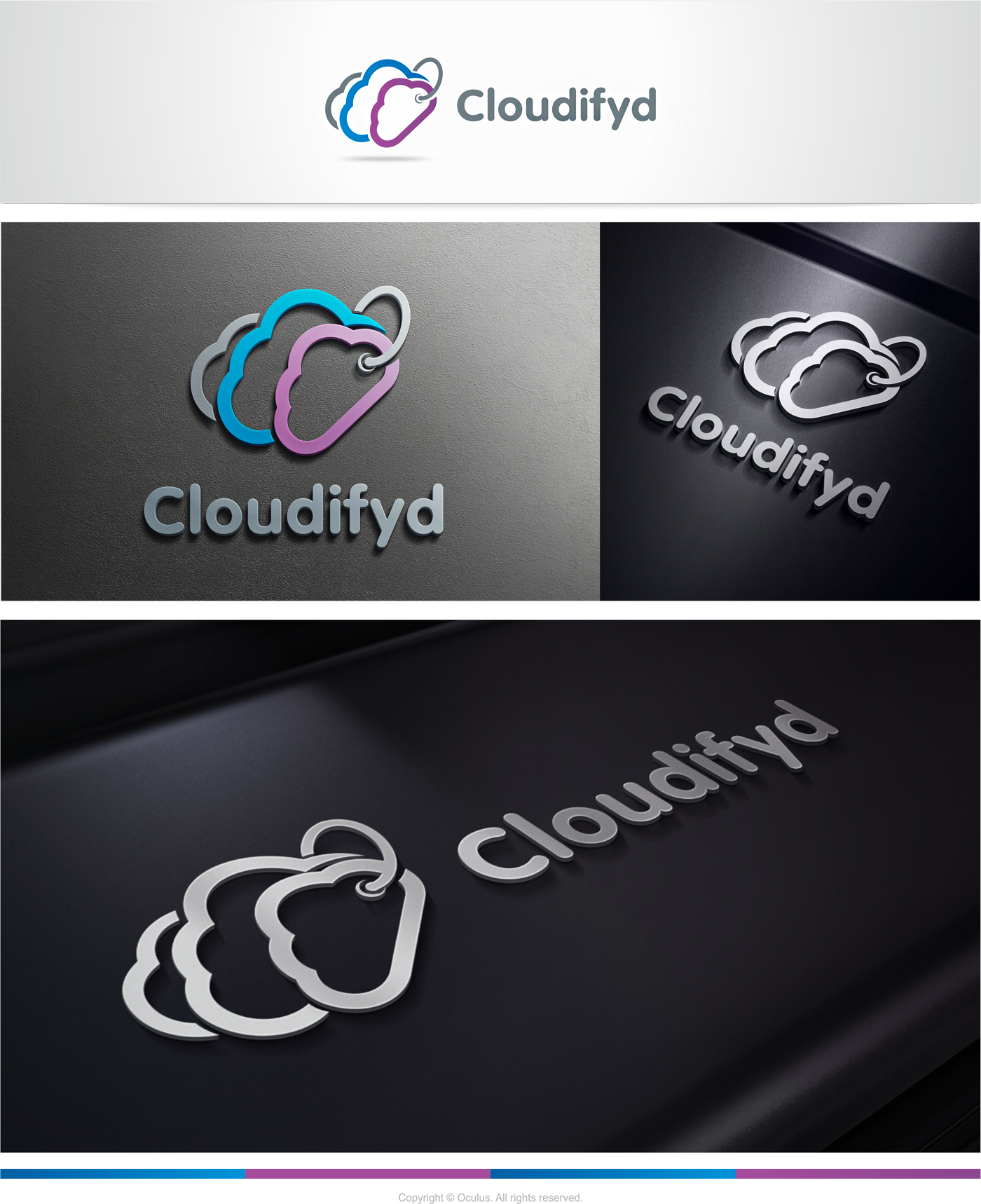Create the next logo for Cloudify