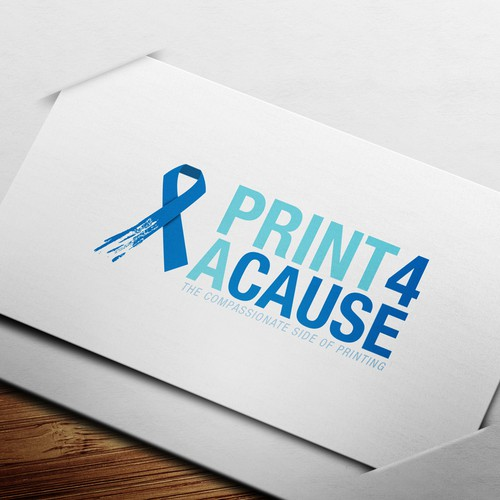 Create the next logo for Print 4 a Cause