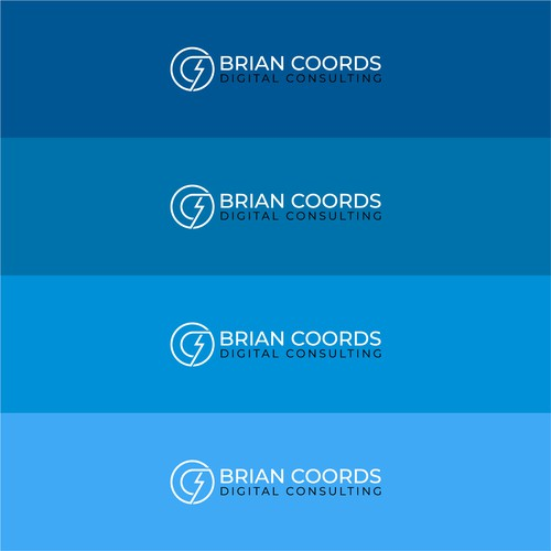 Bold logo concept for technology company