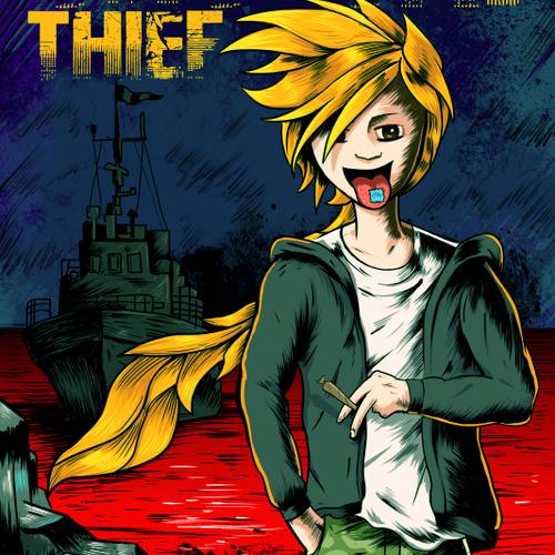 Comic book style Book Cover