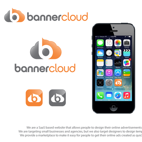 Bold logo concept for BannerCloud