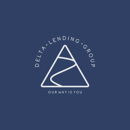 Logo Concept for Delta Lending Group