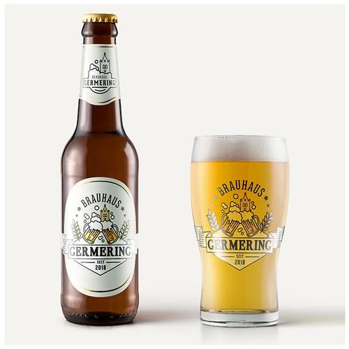 Brauerei Germering - Logo