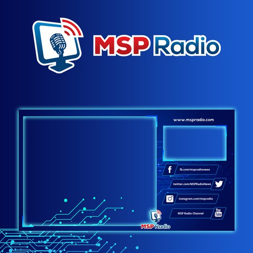 MSP Radio Video Overlay