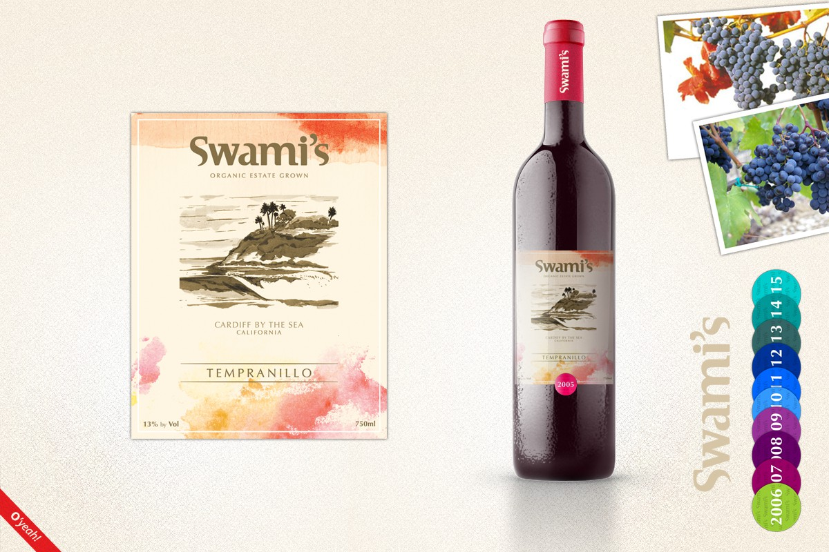 Help Swami's with a new product label