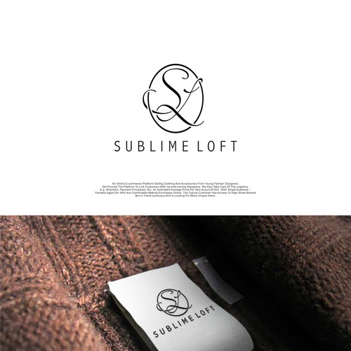 Design a logo for a fashion designer e-retail platform Sublime Loft
