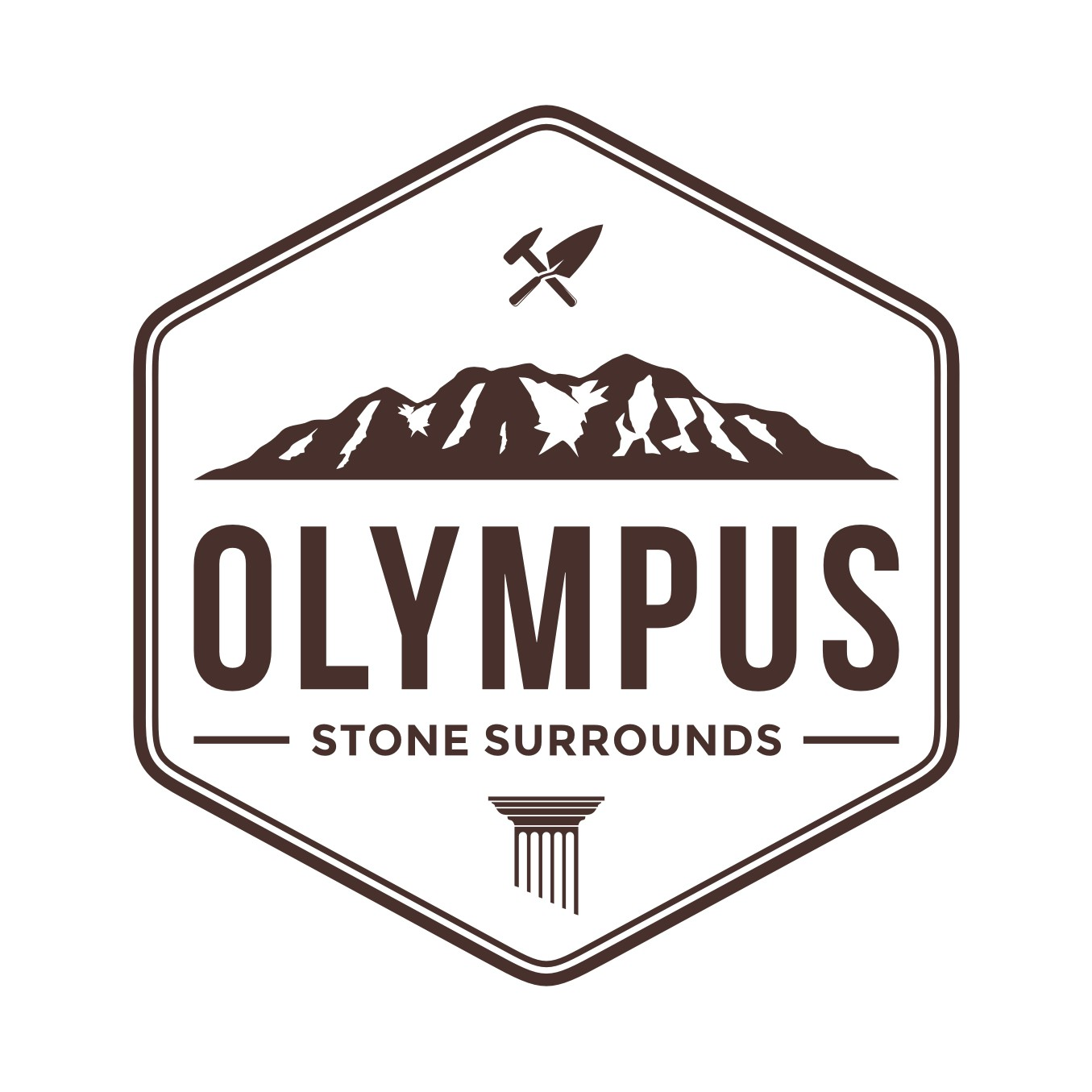 We craft traditional stone products w/ a modern twist. Craft us a traditional logo w/ a modern twist