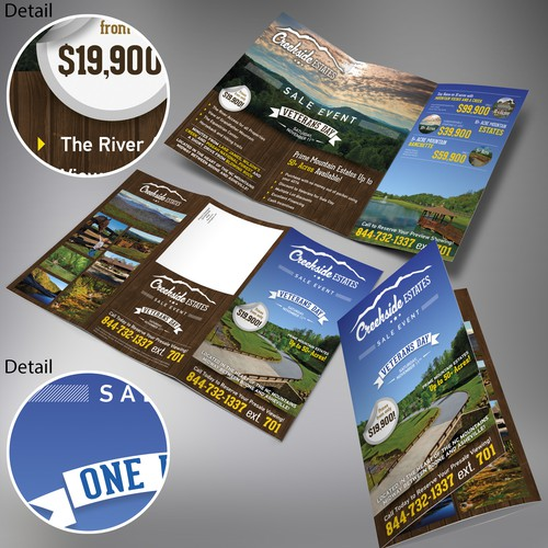 North Carolina Mountain Community Trifold Brochure