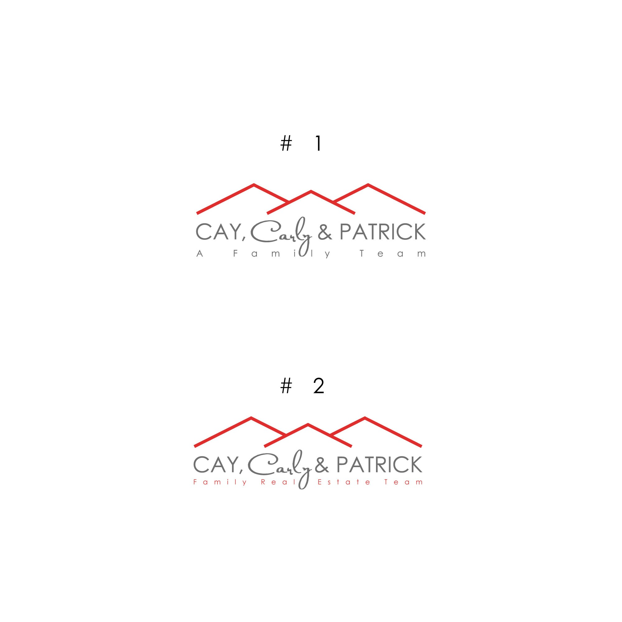 New real estate Family Team logo for new brand Co.