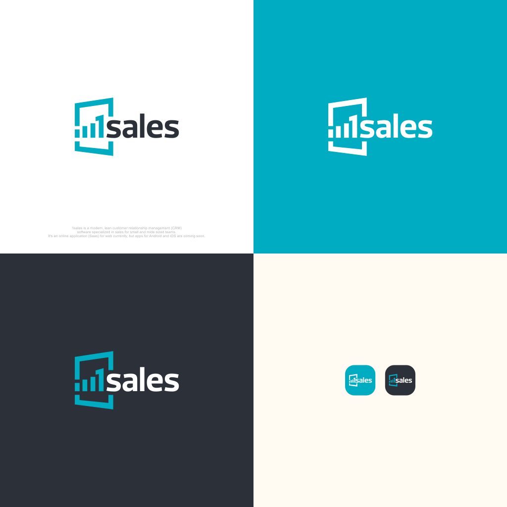 1sales CRM is looking for a modern logo