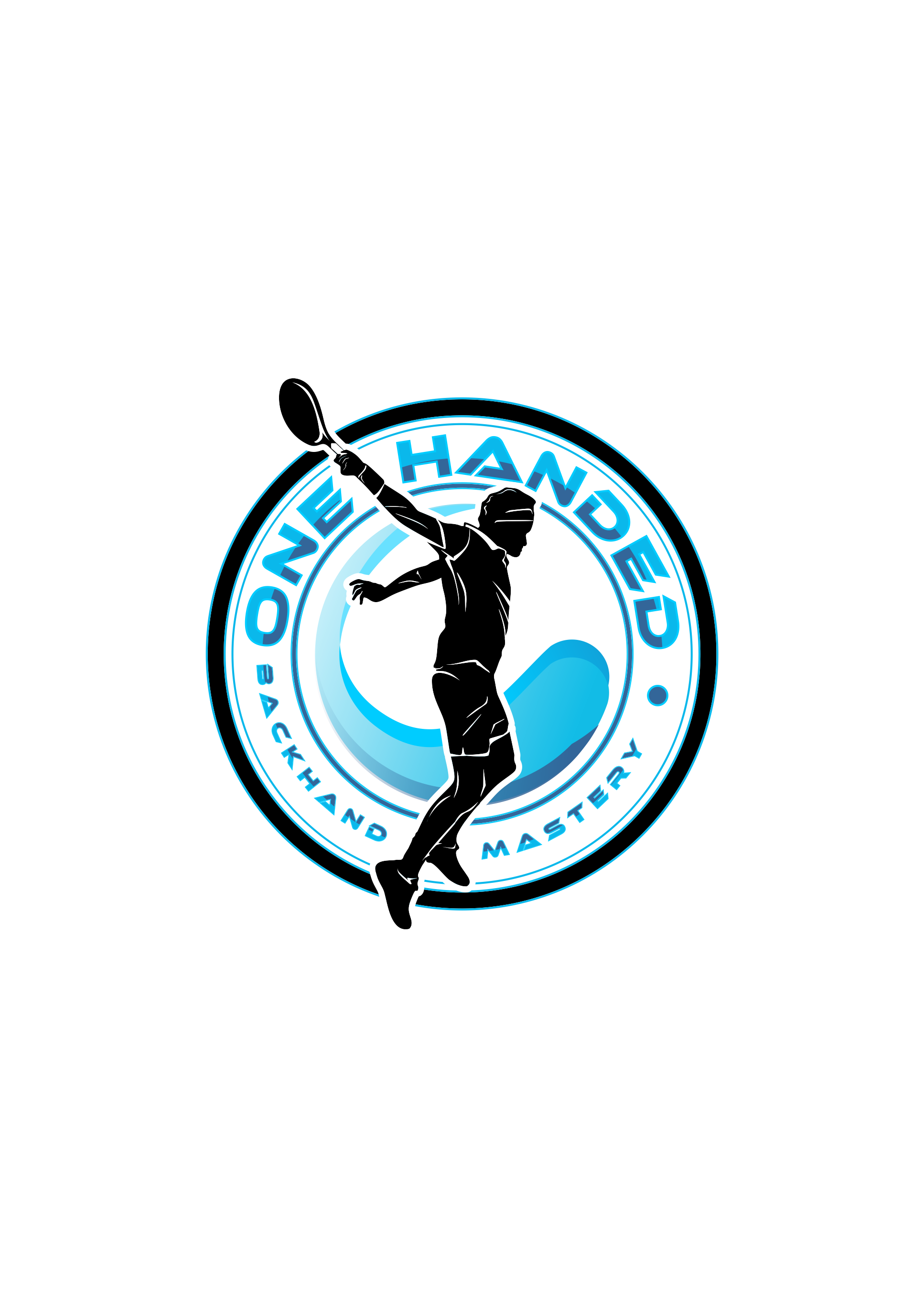 Clean, dynamic logo needed for my tennis course!