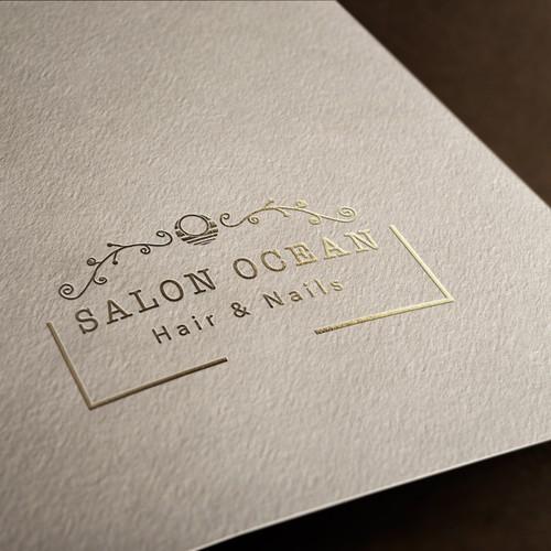 """Logo concept for """"Salon Ocean"""""""