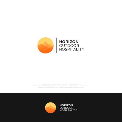 Bold Outdoor Hospitality Logo Design