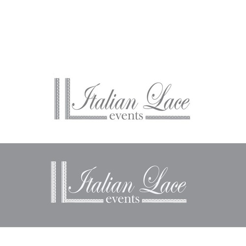 Simple logo for wedding events